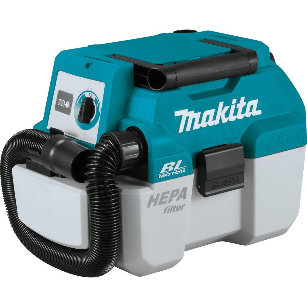 MAKITA DVC750LZX1 BODY akumulatorowy odkurzacz 50W LXT 18V
