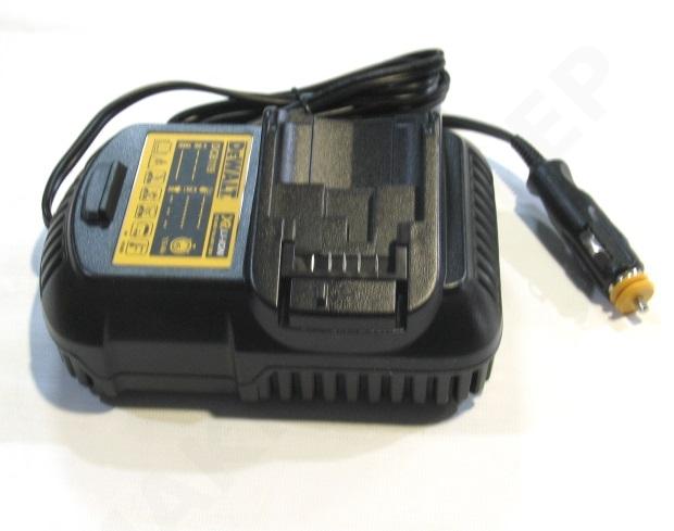 DEWALT Ładowarka samochodowa do akumulatorów XR Li Ion 10,8