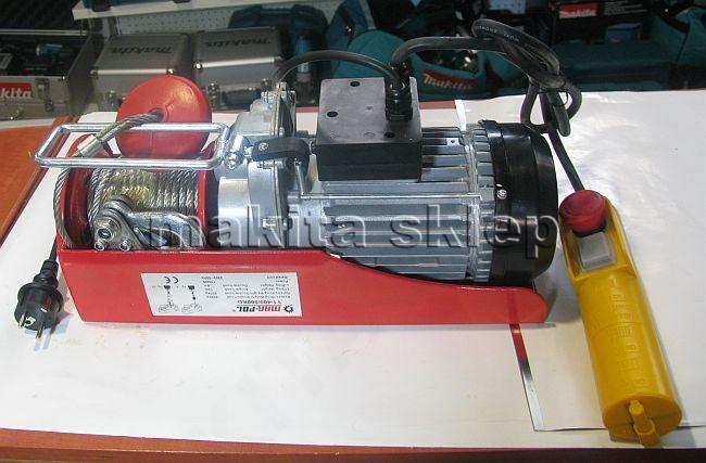 Chwalebne Wyciągarka H-YT 1300W 400kg / 800 kg / 230V UD25