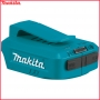 MAKITA ADP05 BODY adapter USB 5V 2x 2.1A (4.2A) do akumulatorów Makita LXT 14,4V i LXT 18V Li-Ion (ładowarka USB POWERBANK)