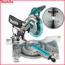MAKITA LS1016L + D-61874 ukośnica 1510W 260mm + tarcza do aluminium 260x30mm 100Z