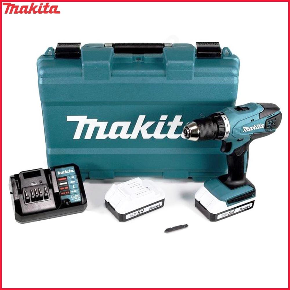 Populair MAKITA DF457DWE akumulatorowa wiertarko-wkrętarka 42Nm 18V Seria G CP61