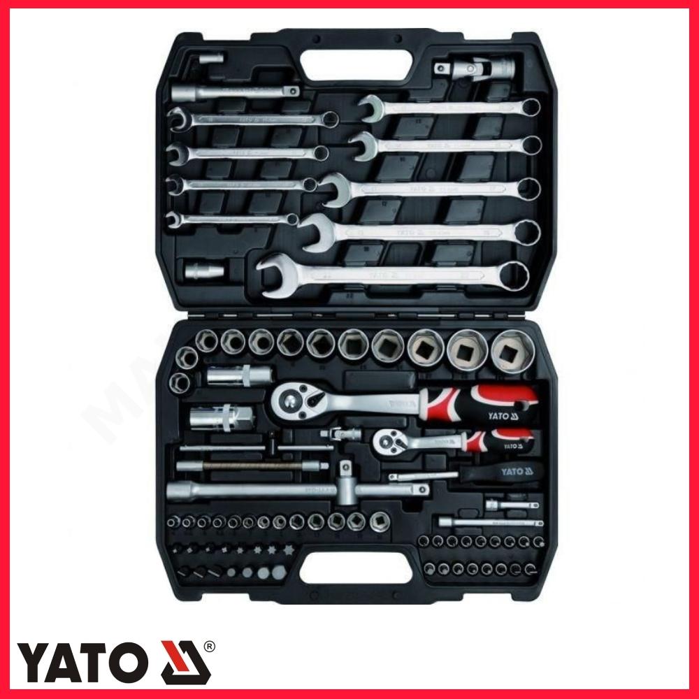 dff62b00d4645 YATO YT-1269 Zestaw narzedziowy zestaw kluczy 82cz. (YT1269) (bity nasadki)